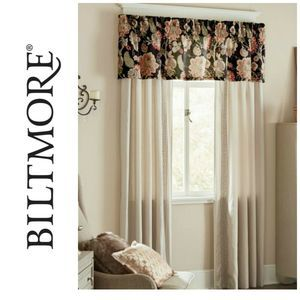 New Biltmore Amapola Valance Window Treatment